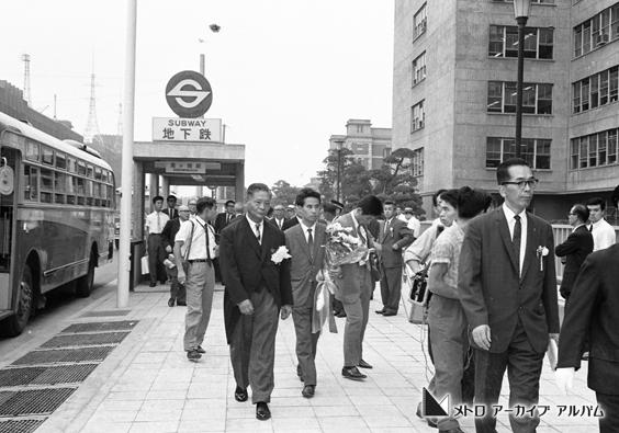 霞ケ関駅出入口
