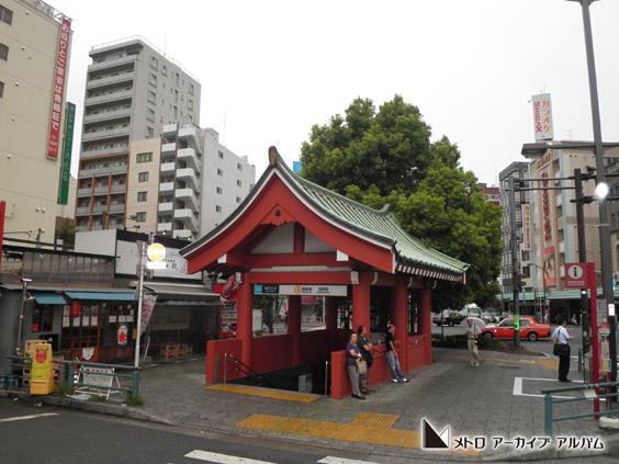 浅草駅出入口