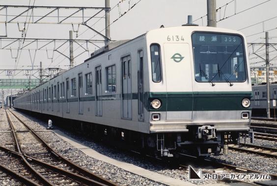 千代田線6000系車両