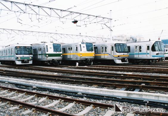鉄道の日イベント 3路線車両集合