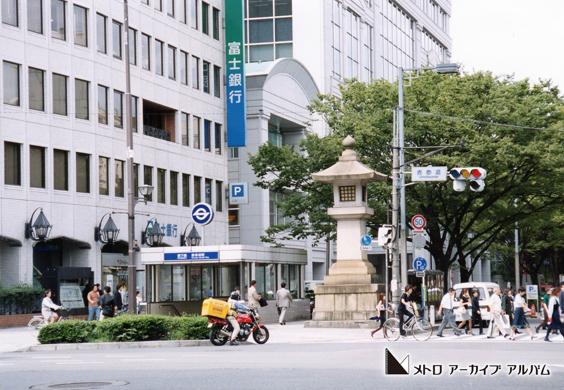表参道駅出入口