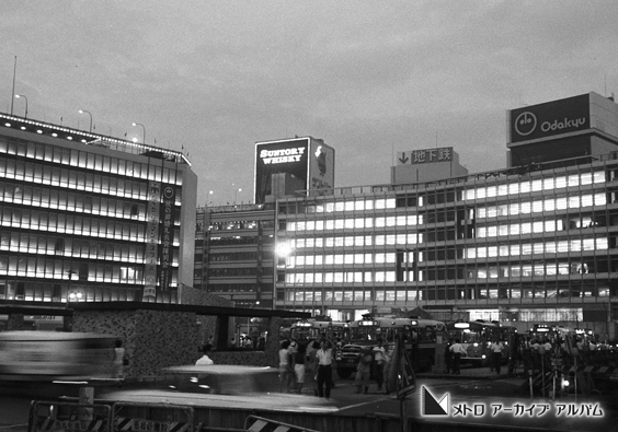 新宿西口夜景
