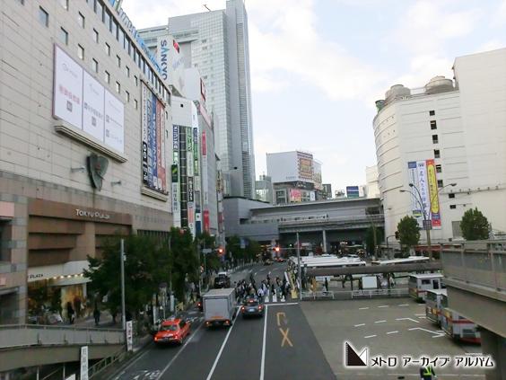 渋谷駅折り返し車両