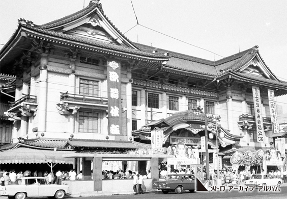 歌舞伎座前駅出入口