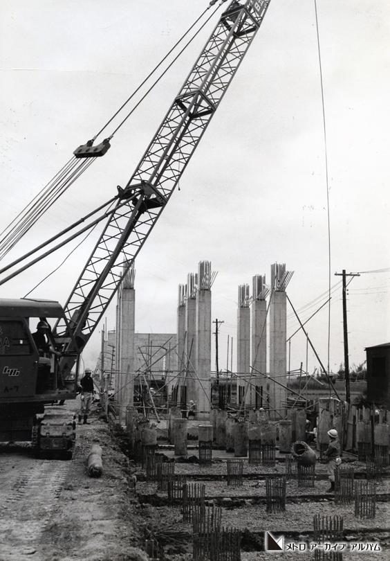 高架橋の基礎工事