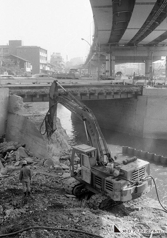 神田川河底工事