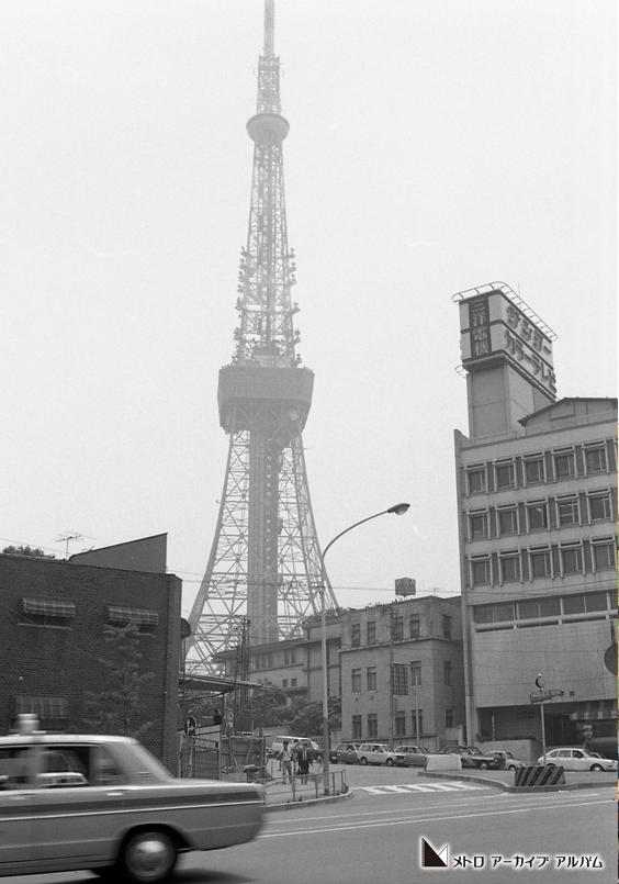 東京タワーを望む風景