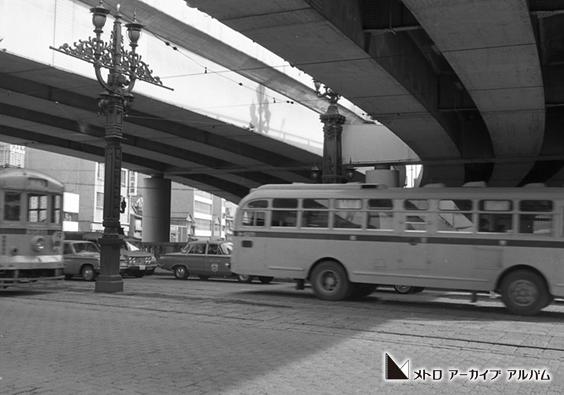 高速道路に覆われた日本橋