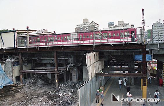 後楽園駅ビル工事