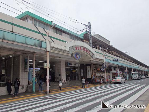 綾瀬駅外景